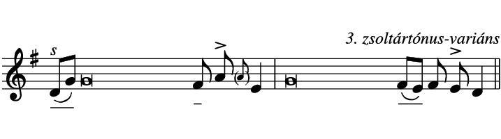39. ének kottája